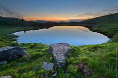 Apshynets lake / Оз. Апшинец, Карпаты