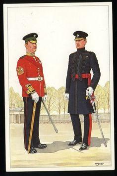 British Army Uniform, British Uniforms, British Soldier, Military Uniforms, Military Art, Military History, British Armed Forces, Royal Guard, Royal Marines