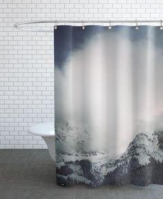 The Alps 3 als Duschvorhang
