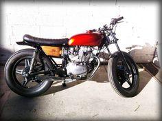 Honda CB 400T custom By Dirty Seven Motorcycles