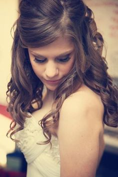 Hairstyle for Bride by Amanda , via Behance
