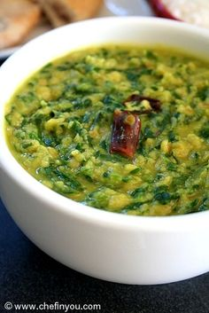 Indian Spinach Recipes | Spinach Lentil Curry Recipe | Indian Curry Recipes. Yes please