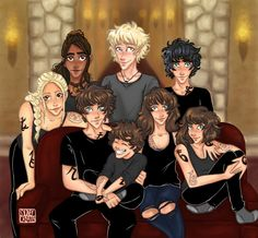 Emma, Cristina and the Blackthorns (without Helen) ♥♥♥ #TDA