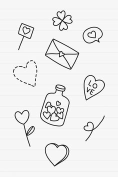 Doodle Drawings, Doodle Art, Easy Drawings, Halloween Doodle, Halloween Drawings, Bullet Journal Books, Bullet Journal Ideas Pages, Valentines Day Doodles, Love Doodles