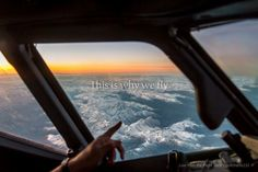 This is why we fly