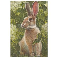 Vintage Elegant Modern Easter Tissue Paper - See our other products and collections, choose a gift for you and your dear ones. Thanks for buying in our store. Come again. :) Bunny Art, Cute Bunny, Animal Paintings, Animal Drawings, Easter Drawings, Animals And Pets, Cute Animals, Rabbit Art, Wild Rabbit