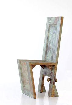 Door Chair  Jason Conway  Custom studio furniture maker          www.nookdesign.ca