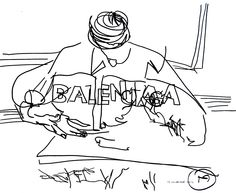 belle BRUT sketchbook: #Balenciaga #fashion #style #illustration #blindcontour  © belle BRUT 2014   http://bellebrut.tumblr.com/post/93750131270/belle-brut-sketchbook-balenciaga-fashion-style