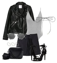 """""""#686"""" by blendingtwostyles ❤ liked on Polyvore featuring MANGO, Schutz, Lilou, Taylor Morris and ASOS"""