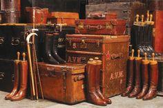 ~John Morgon's Vintage luggage & Boot collection