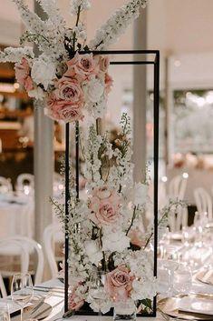 Wedding Events, Our Wedding, Dream Wedding, Wedding Bride, Wedding Ideas, Weddings, Wedding Table Decorations, Wedding Centerpieces, Wedding Flower Arrangements