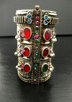 Antique Tribal Afghan Kuchi Cuff Bracelet Rare Vintage Boho Gypsy Bracelet Traditional Indian Ethnic Bracelet Turkoman Cuff Bracelet Jewelry by RareFindingsUS on Etsy