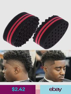 Personal Care Appliance Parts New Brand Double Sided Barber Hair Brush Sponge Dreads Locking Twist Coil Afro Curl Wave Do You Want To Buy Some Chinese Native Produce? Home Appliances