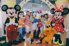 Mickey Mouse Characters and Friends at a Mickey Mouse Circus Birthday Party via Kara's Party Ideas KarasPartyIdeas.com (5)