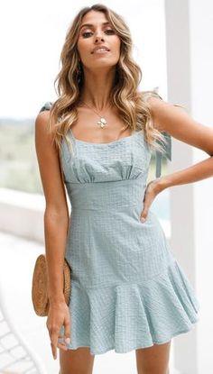 0bac8dd3e78a9 83 Best DRESSES images in 2019   Mini dresses, Sexy dresses, Frill dress