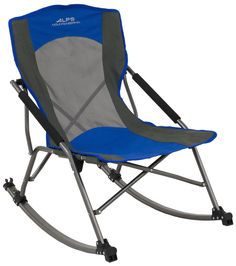The Alps Mountaineering Low Rocker Camp Chair is a portable rocker for chilling out by the campfire. It's heavy duty and comfortable and looks great.
