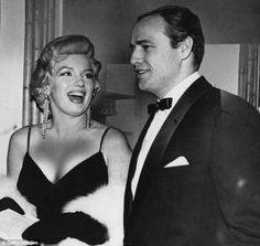 Marylin Monroe e Marlon Brando