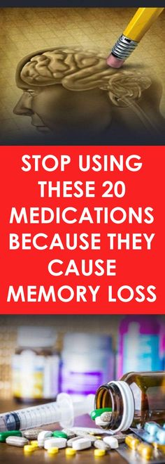 20 Medications That Cause Memory Loss, Stop Using Them - Health and Wellness Tips Chakras, Brain Health, Women's Health, Health Advice, Health Articles, Health And Wellbeing, Health Benefits, Health Problems, Health Remedies