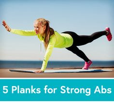 Ab Challenge: 5 Planks to Sculpt Your Core for Summer