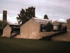 Escuela Munkegards,Gentofte Arne Jacobsen.
