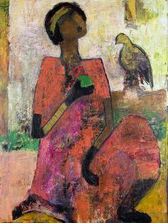 Spring Mood, painting, Goli-Mahallati