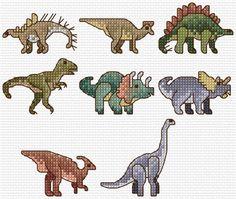 Dinosaur Alphabet Sampler Cross Stitch Chart PDF by clairecrompton Mini Cross Stitch, Cross Stitch Alphabet, Cross Stitch Animals, Cross Stitch Charts, Cross Stitch Designs, Cross Stitch Patterns, Cross Stitching, Cross Stitch Embroidery, Embroidery Patterns