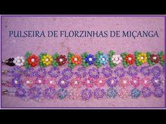 PULSEIRA de FLORZINHAS DE MIÇANGA - Tutorial by Ana - YouTube