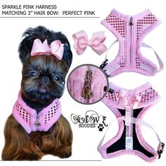 Pink Sparkle Harness