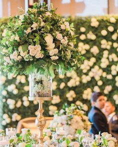 A Blush-Hued, Floral-Filled Summer Wedding - WedLuxe Magazine Long Table Wedding, Summer Wedding, Wedding Centerpieces, Wedding Decorations, Wedding Backdrops, Centrepieces, Wedding Reception Lighting, Flower Backdrop, Flower Bouquet Wedding