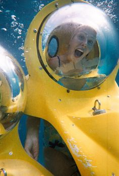 Top 25 Things to Do in the Caribbean in 2014: #8. Go underwater in your own person sub in the Bahamas