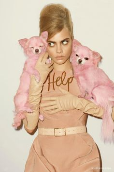 What?s cuter than a model wearing a white cotton dress in a field of grass? A model wearing a white cotton dress in a field of grass?while holding a lamb! Furry creatures?fluffy rabbits and darling ducklings, ferocious felines and baby goats?regularly pop up in fashion glossies alongside in demand models and actresses. Cara Delevingne, a self-proclaimed animal lover, appeared in British Vogue last year holding two pink Pomeranians to match her blush Lanvin ensemble; Amanda Seyfried upped the…