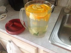 Fruit Water (lemon, lime, orange)