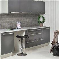 Klicka här för att gå till Väggskiva Fibo-Trespo Kitchen Board Zink 2069-KM99 S Berry Alloc, Kitchen Board, Woody, Home Kitchens, Kitchen Cabinets, Interior, Home Decor, Decoration Home, Indoor