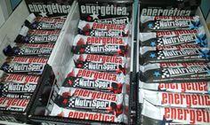 Barritas energéticas y proteicas. En diferentes sabores, con o sin chocolate. Tu eliges.