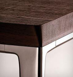 Desk detail #two #tone