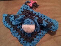 Crochet Lovey, Crochet Blankets, Crochet For Kids, Baby Blankets, Crochet Toys, Crochet Ideas, Knitting Projects, Crochet Projects, Disney Crochet Patterns