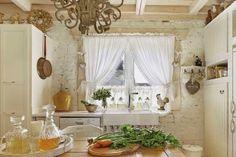 Era uma casa em estilo Provençal e romântica