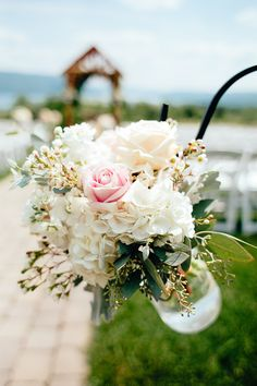Beautiful Aisle Jar Arrangement