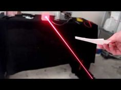 Building a Burning Laser from an Old Computer!!! - YouTube