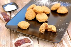 Datlové kokosky Cookies, Ethnic Recipes, Fit, Crack Crackers, Shape, Biscuits, Cookie Recipes, Cookie, Biscuit