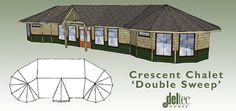Difficult situations inspire ingenious solutions: enter Deltec's new Crescent Chalet Double Sweep!