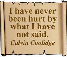 Calvin Coolidge #quote