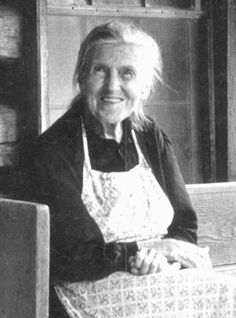 """If we had [shuckin's] like we used to, we'd have ever'one a'you younguns come down here and we'd have th'best time."" —Aunt Arie Carpenter  (life in Appalachia)"