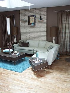 I Love sectionals! Mid-Century Modern Living Room, Mid-Century Modern Living Room with original sofa from 1959!, 1959 Mid Century Modern Sofa, Living Rooms Design
