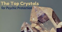 The Best Crystals for Psychic Protection & Repelling Negativity by Amanda Linette Meder Crystals And Gemstones, Stones And Crystals, Gem Stones, Healing Stones, Crystal Healing, 5 Elements, Dark Energy, Relaxation Techniques, Rocks And Gems