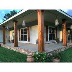"""Brick House Exterior Discover Wood Shutters Rustic exterior cedar shutters- """"Board and batten"""" Exterior House Colors, Exterior Paint, Exterior Design, Exterior Wood Stain, Cedar Shutters, Wooden Shutters Exterior, Custom Shutters, Farmhouse Shutters, Outside Shutters"""