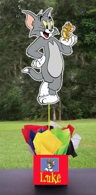 Tom and Jerry Centerpiece