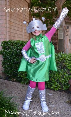 super martian robot girl - helpful hints on how to make this costume!