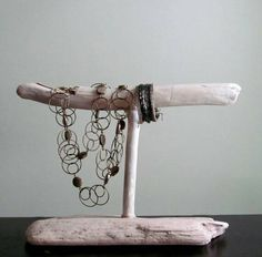 Driftwood Bracelet Display Bracelet Organizer Photography