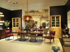 Modern and Elegant Feminine Dining Room Design